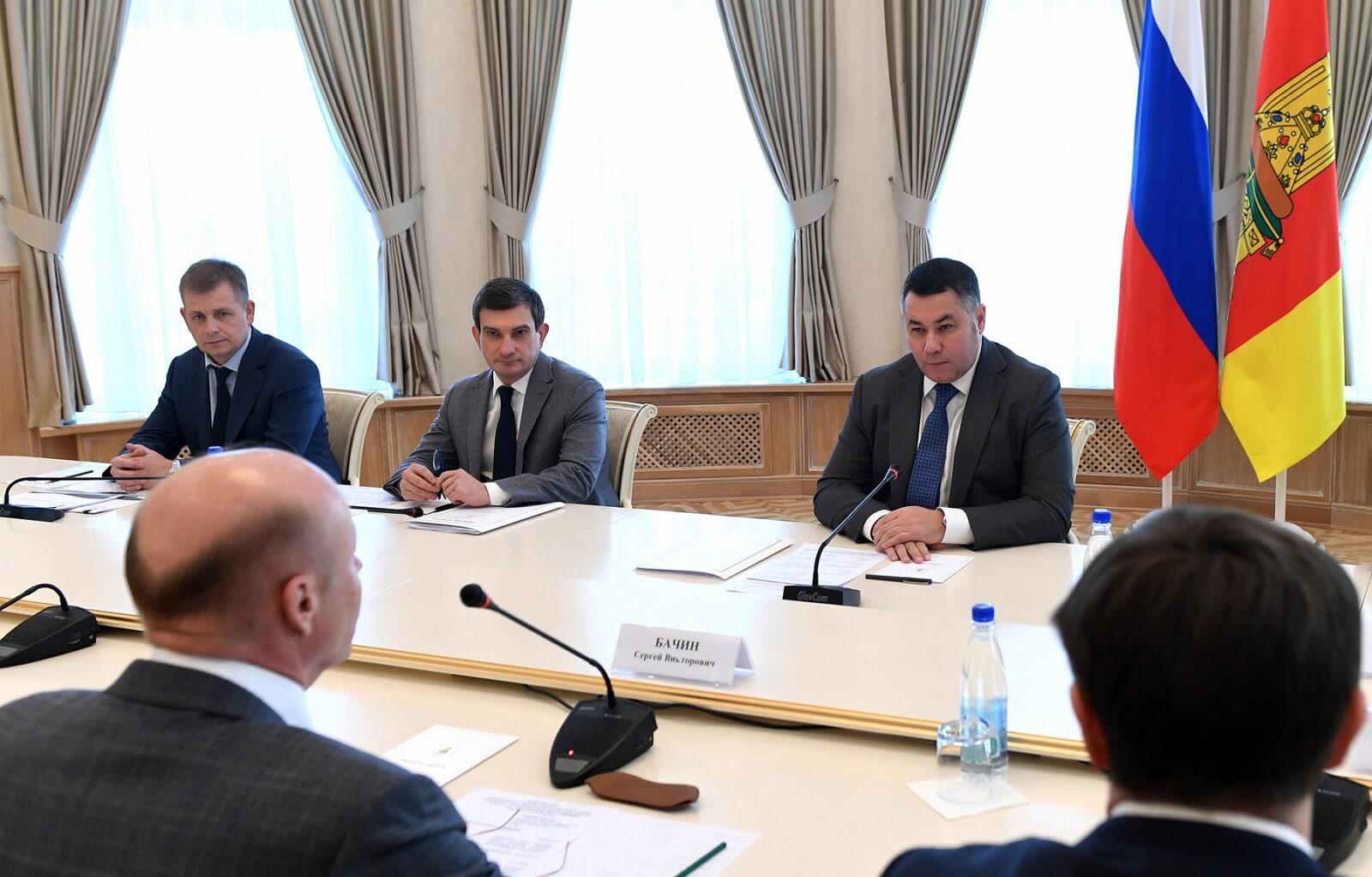 «Губернаторская повестка» отметила встречу Игоря Рудени с инвестором проекта «Волжское море» Сергеем Бачиным