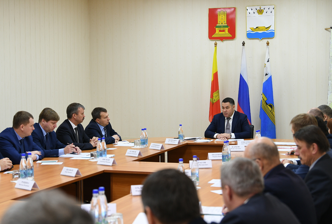 Губернатор Игорь Руденя дал неделю на восстановление размытых дорог