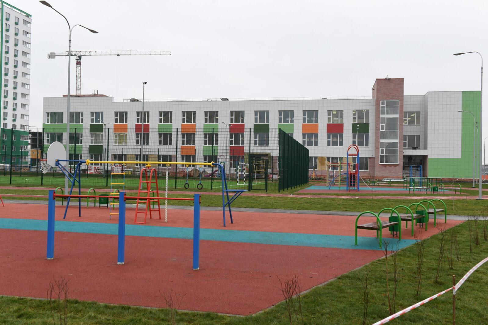 Строительство школы в «Брусилово» почти завершено