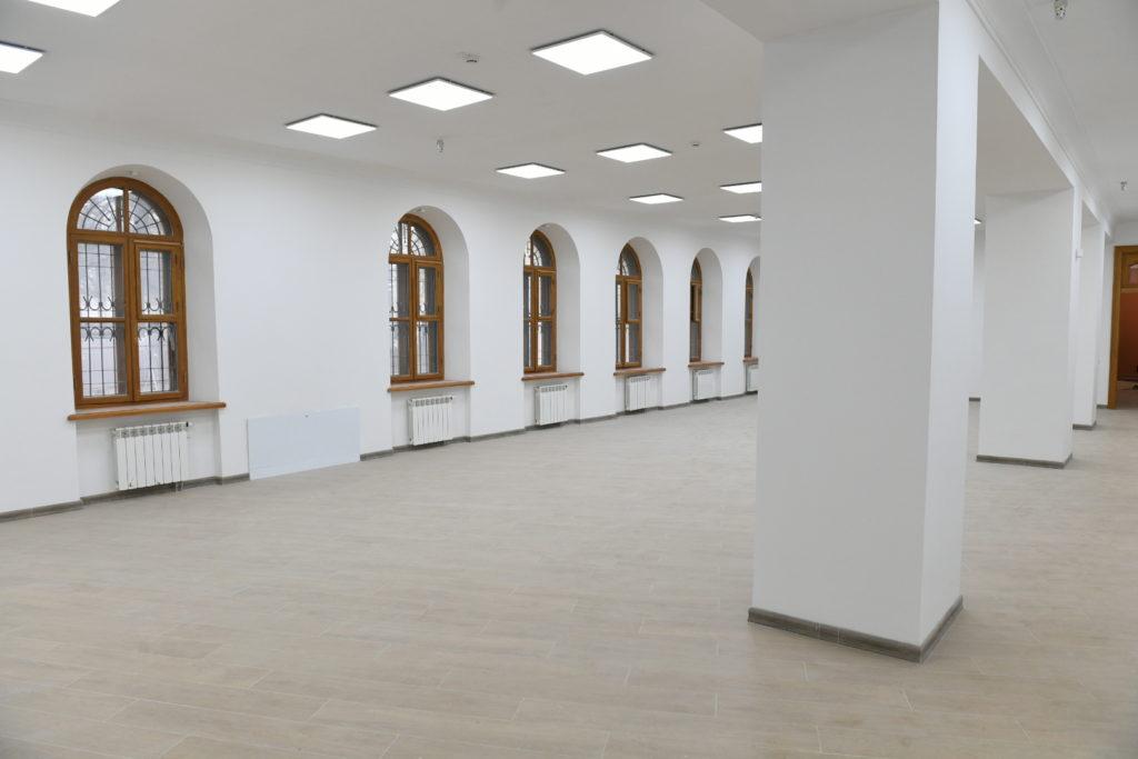 Игорь Руденя оценил, как идёт реставрация объектов Путевого дворца