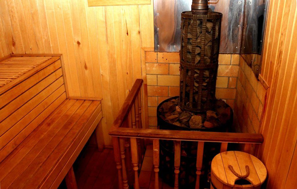 В «Ольгино» действует банный комплекс