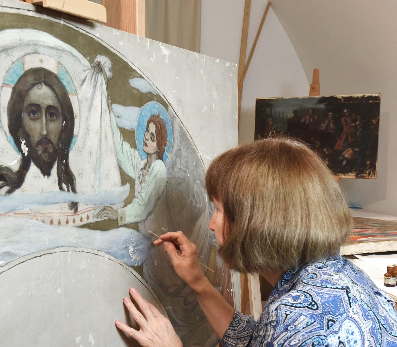 Реставраторы Тверской картинной галереи встретятся с жителями города