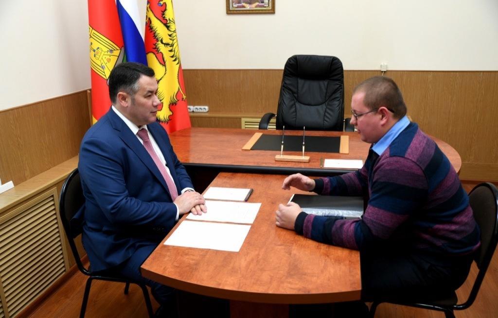 Губернатор взял под личный контроль ход газификации жилых домов во Ржеве