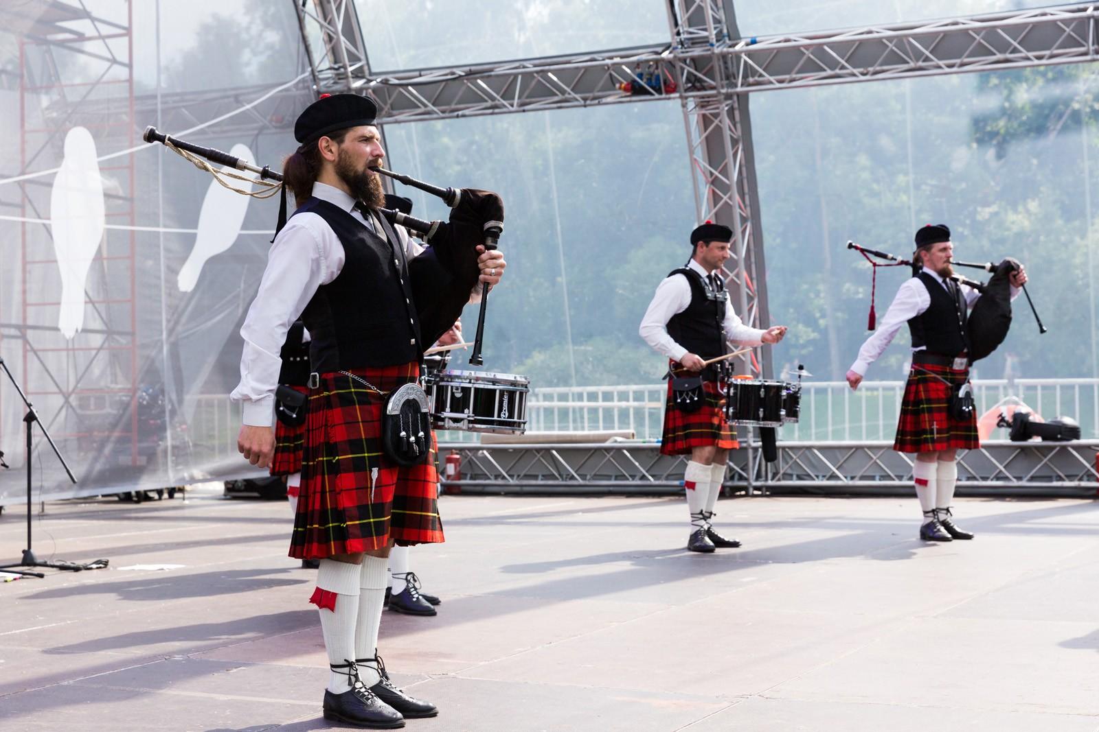 Волынщики устроят рок-концерт в Твери