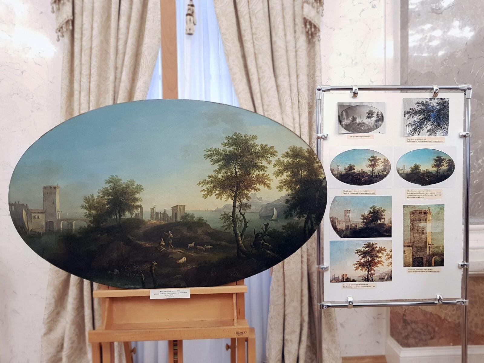 В Твери впервые покажут отреставрированную картину неизвестного художника 18 века