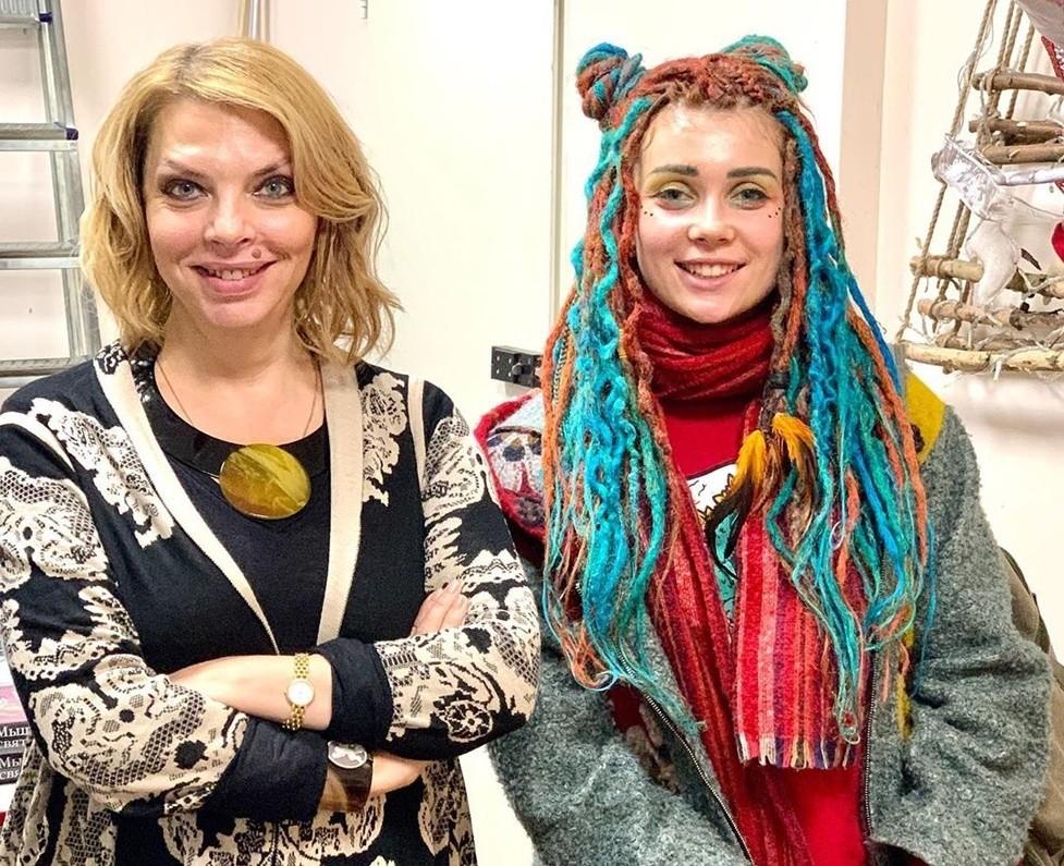 Екатерина Рождественская приехала в Тверь и рассказала о причёске мечты