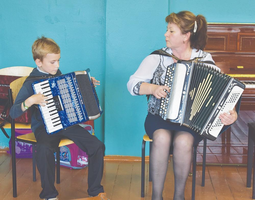 Жарковская детская музыкальная школа встречает новых учеников