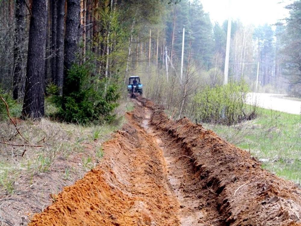 В Жарковском районе обсудили защиту леса от пожаров и чёрных лесорубов