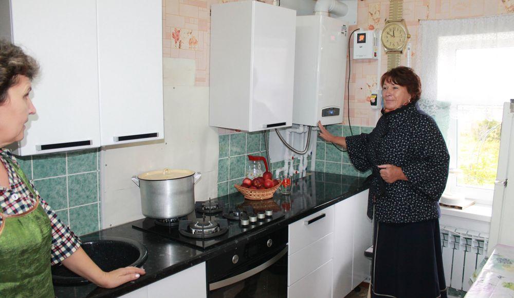 В Вышневолоцком районе продолжается газификация населённых пунктов