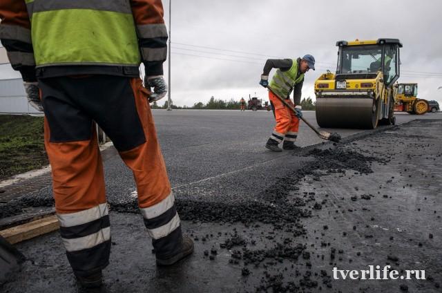 Дорогу «Починок – Удомля» в Тверской области отремонтировали за два месяца