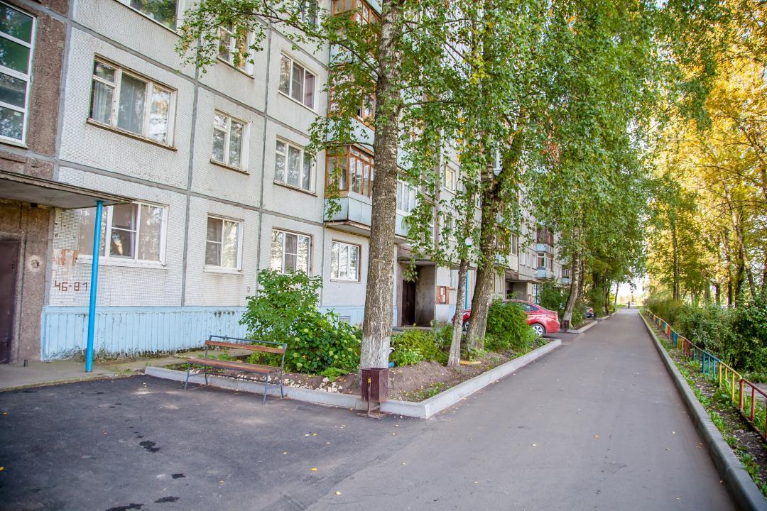 В Тверской области в рамках национальных проектов проведены ремонтные работы дворов и дорожного покрытия