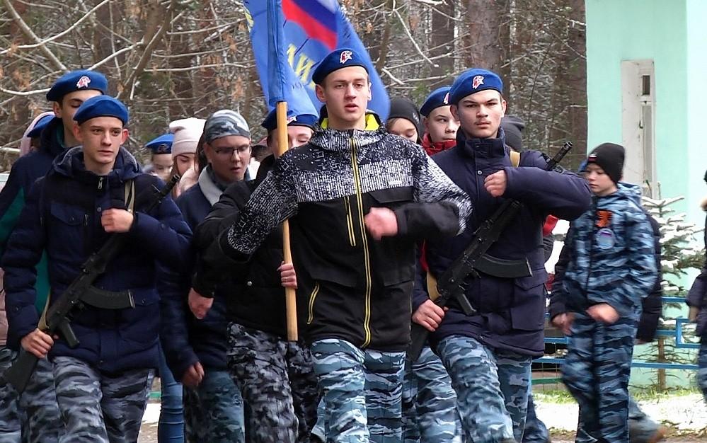 """В вышневолоцком лагере открылась Военно-патриотическая смена """"Мы этой памяти верны"""""""