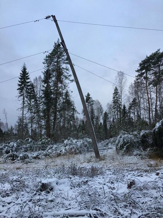 Энергетики «Россети Центр» оперативно ликвидировали последствия стихии в электросетевом комплексе Тверской области