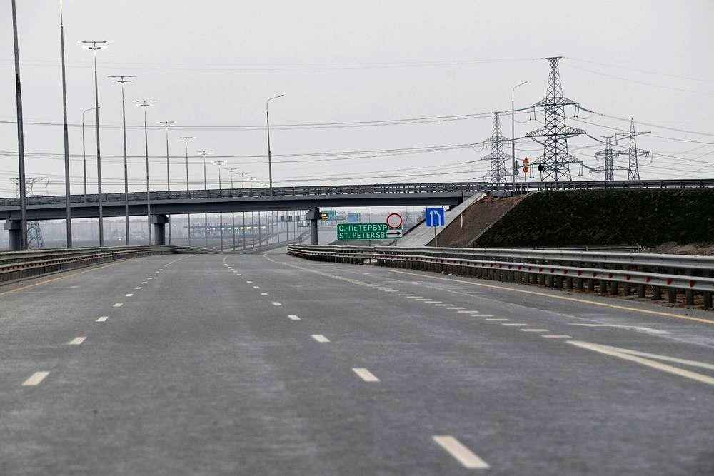 Владимир Путин открыл трассу М-11 «Москва – Санкт-Петербург»