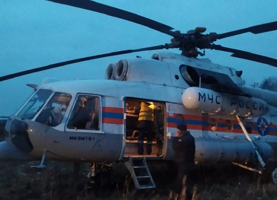 Пациенту из Тверской области потребовалась срочная помощь санитарной авиации