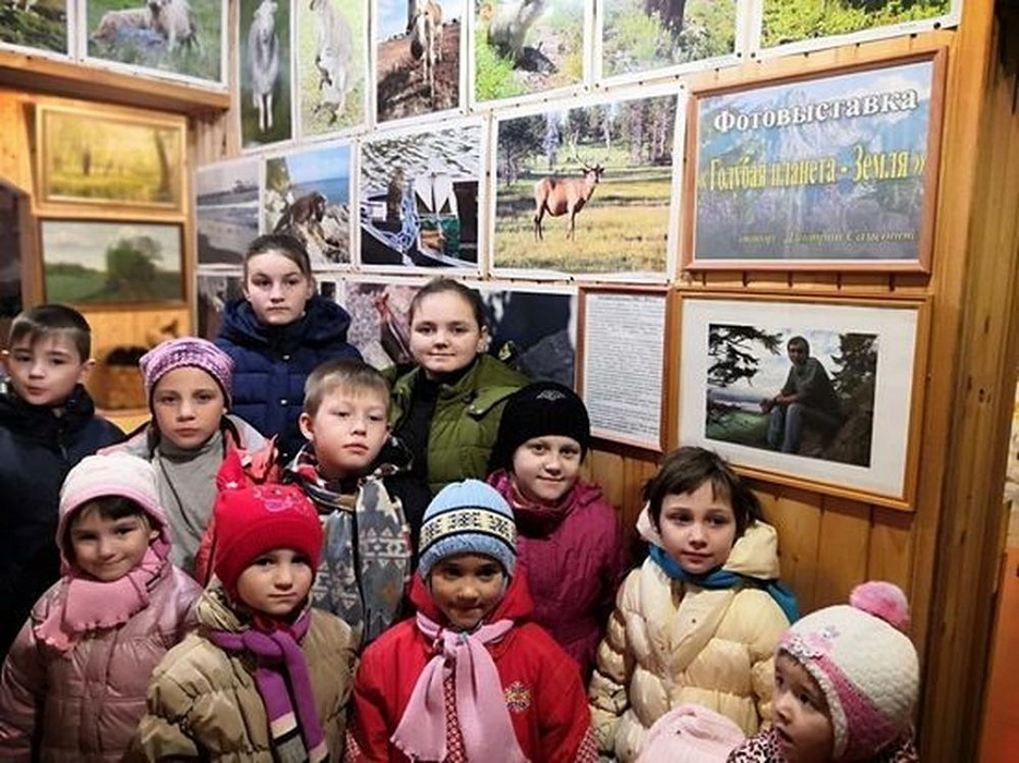 В Оленинском музее работает фотовыставка учёного
