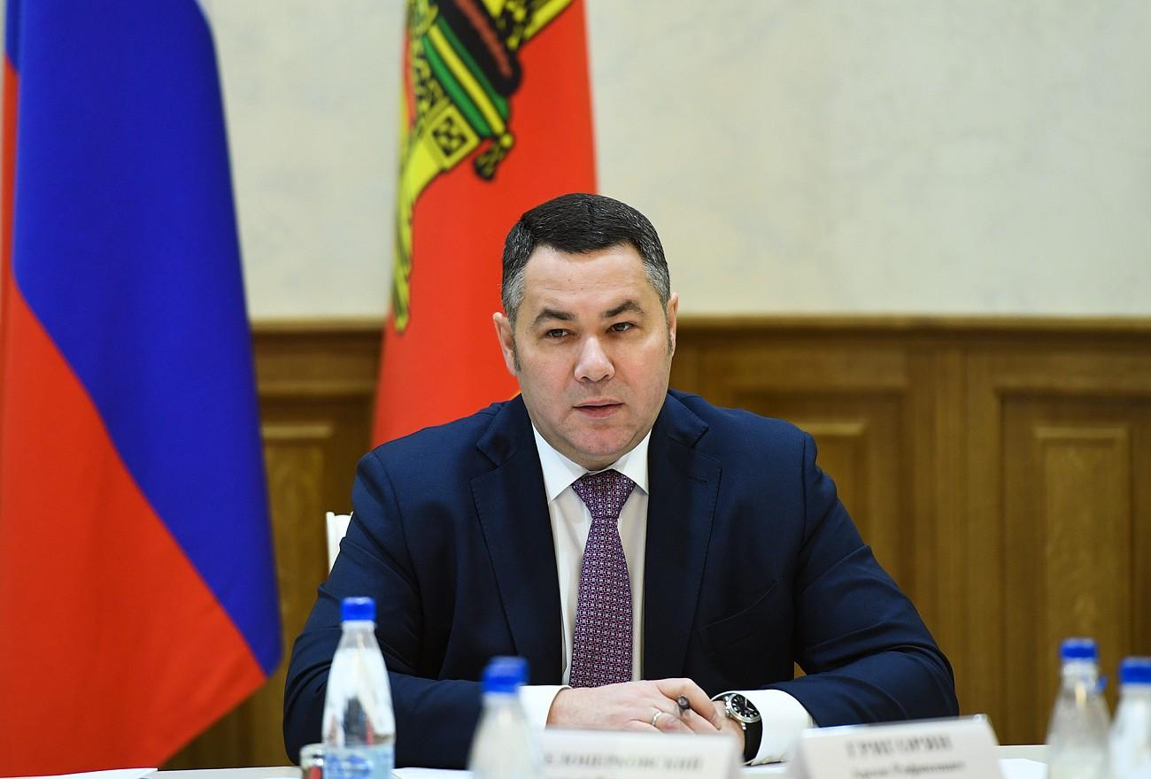 Игорь Руденя проводит рабочий день в Ржевском районе