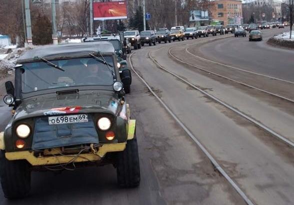Тверские джиперы совершат танковый прорыв по местам боевой славы