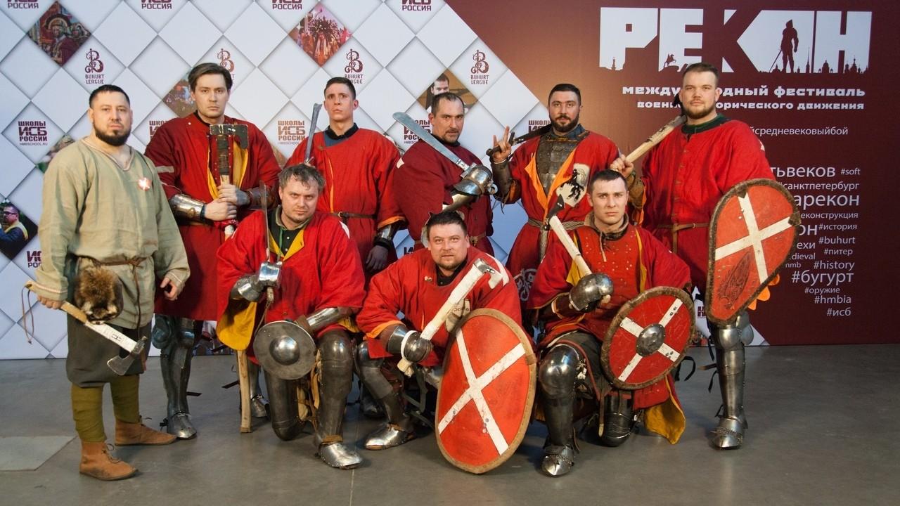 Реконструкторы из Твери сразятся на рыцарском турнире в Москве