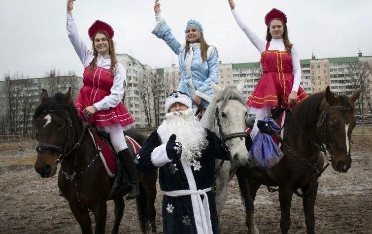 Тверской ипподром представит новогоднее конное шоу «Казаки и разбойники»