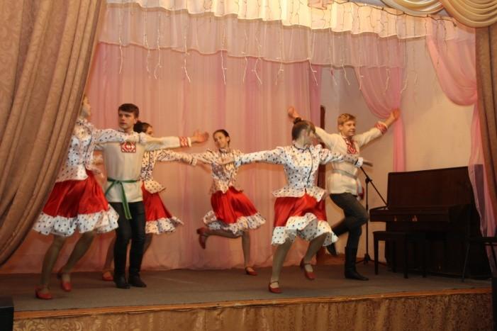 Юные таланты Жарковского района выступили на концерте