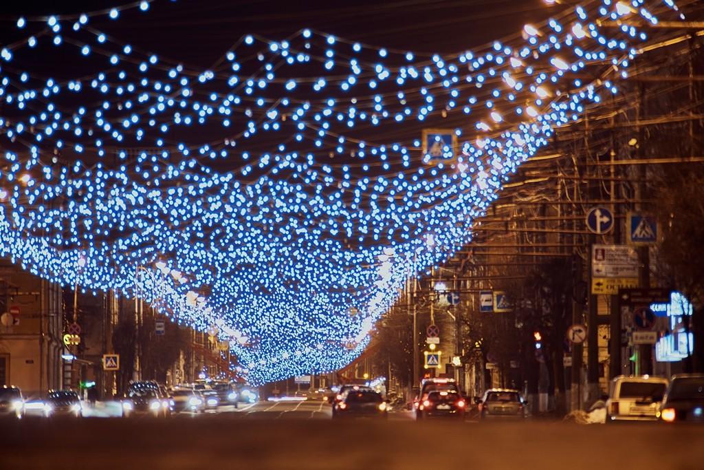 """""""Звёздное небо"""" в Твериполучило новые лампочки к Новому году"""