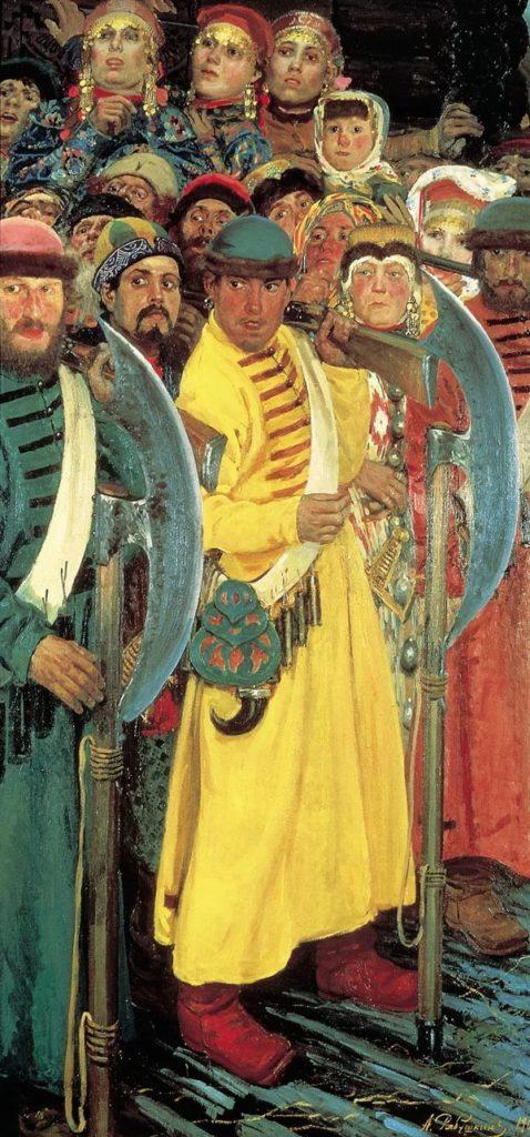 Как Иван Грозный принимал в Старице посольство Папы Римского