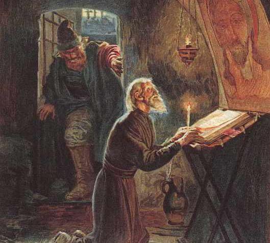 Как опричники Ивана Грозного убивали митрополита Филиппа в Твери