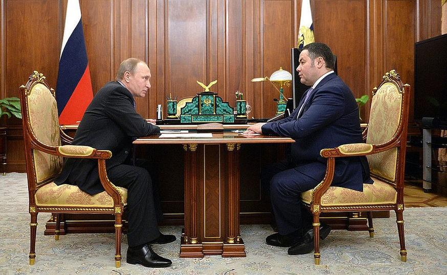 Владимир Путин назначил подрядчика строительства новой детской больницы в Твери