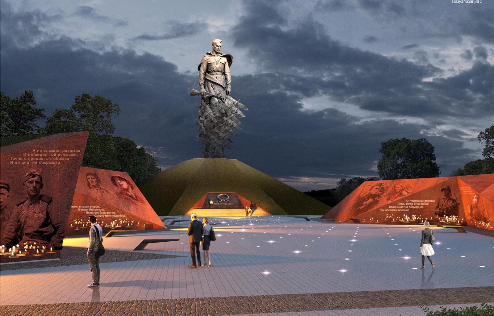 Более 304 млн рублей народных пожертвований поступило на строительство Ржевского мемориала Советскому солдату в Тверской области
