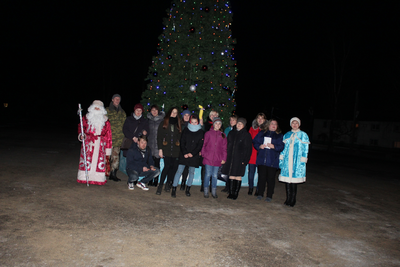 «Новогодний переполох» собрал жителей Сандовского района