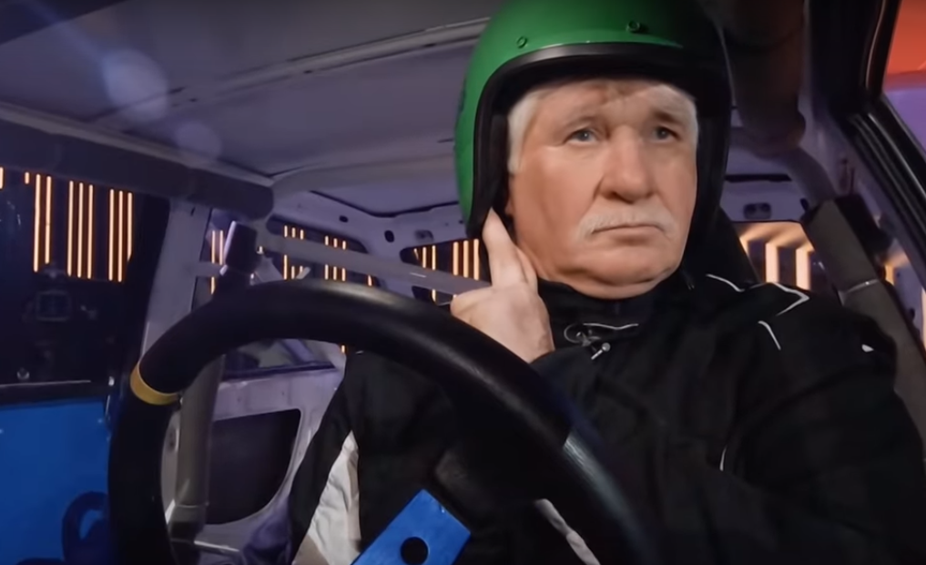 Тверской джипер Александр Крючков достойно выступил на НТВ