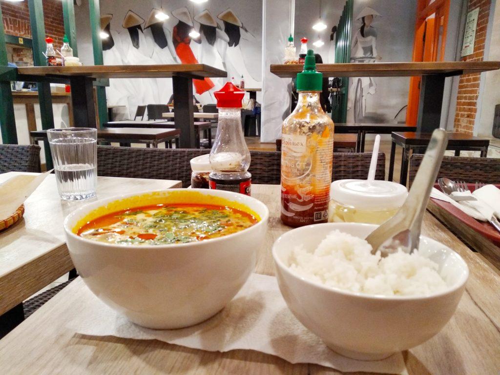 Спецпроект Тверьлайф: обзор на вьетнамский ресторан в самом сердце Твери