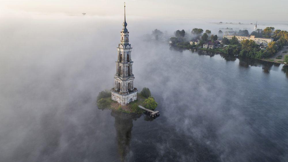 Снимок знаменитой колокольни Калязина признали одним из лучших в мире