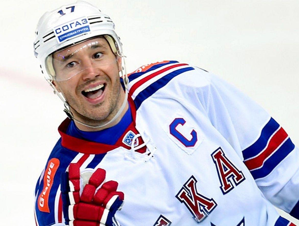 Тверской хоккеист Илья Ковальчук вошел в десятку  успешных спортсменов России