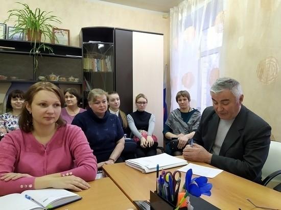 В Старицком районе состоялось заседание Совета по образованию
