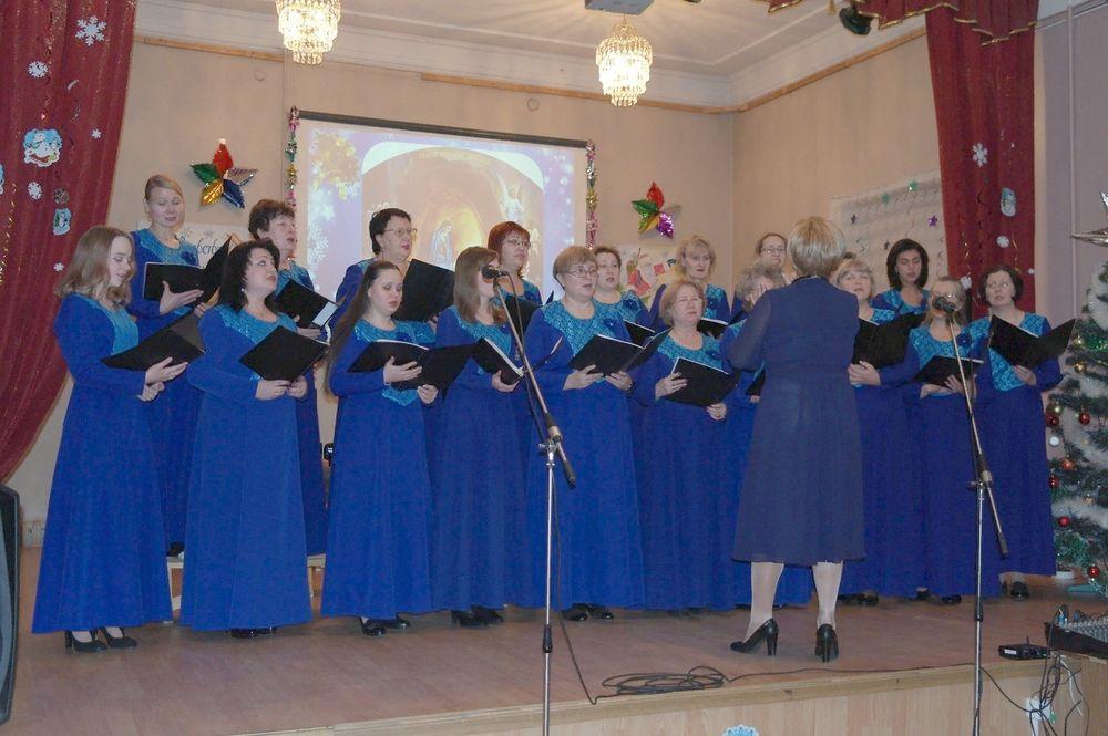 Народный женский хор в Бологое отметил юбилей
