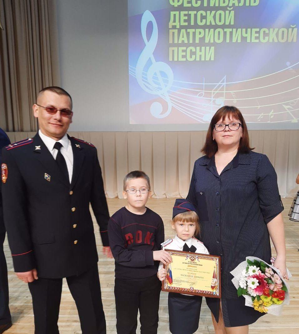 Девочка из Тверской области победила в федеральном конкурсе Росгвардии