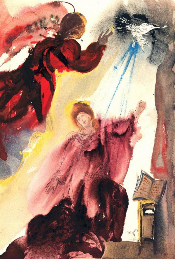 В Тверь привезли уникальную коллекцию графических иллюстраций Сальвадора Дали к Библии