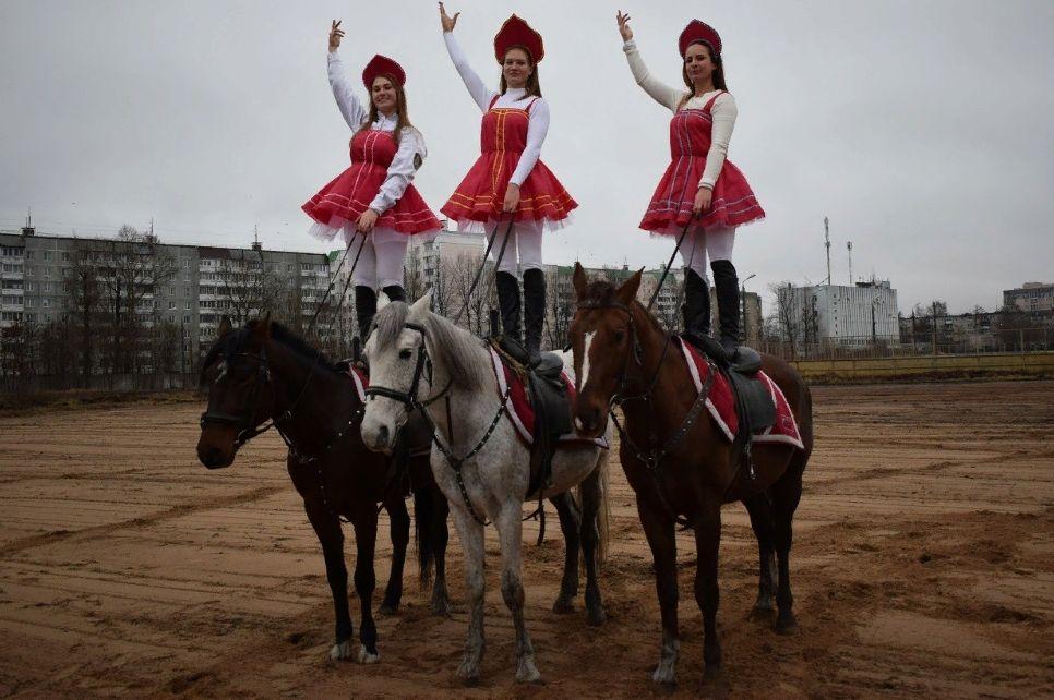 В Твери пройдет новогоднее конное шоу
