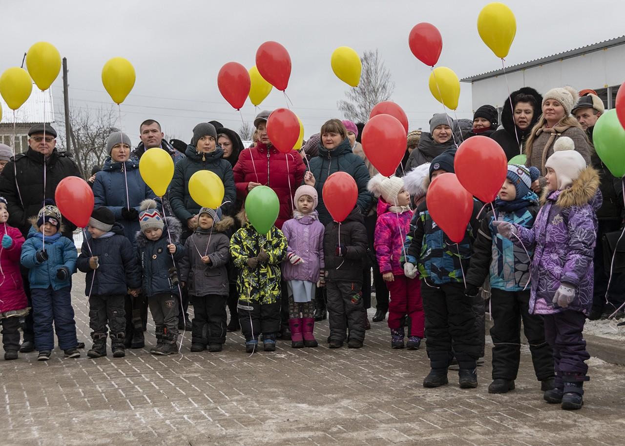 В Старице вступил в строй новый детский сад