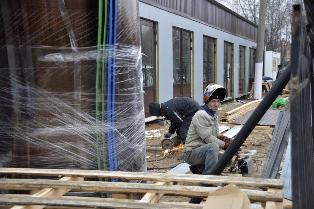 Новый торговый павильон откроется в Твери