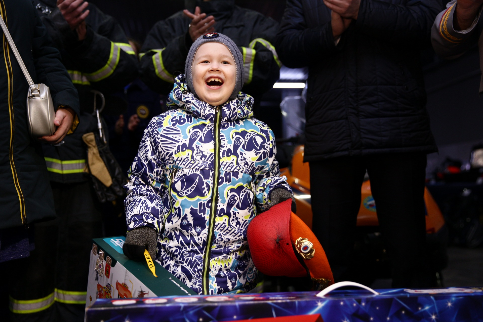 Спасатели Верхневолжья исполнили  мечту юного жителя Тверской области Глеба Праволюбова ФОТО