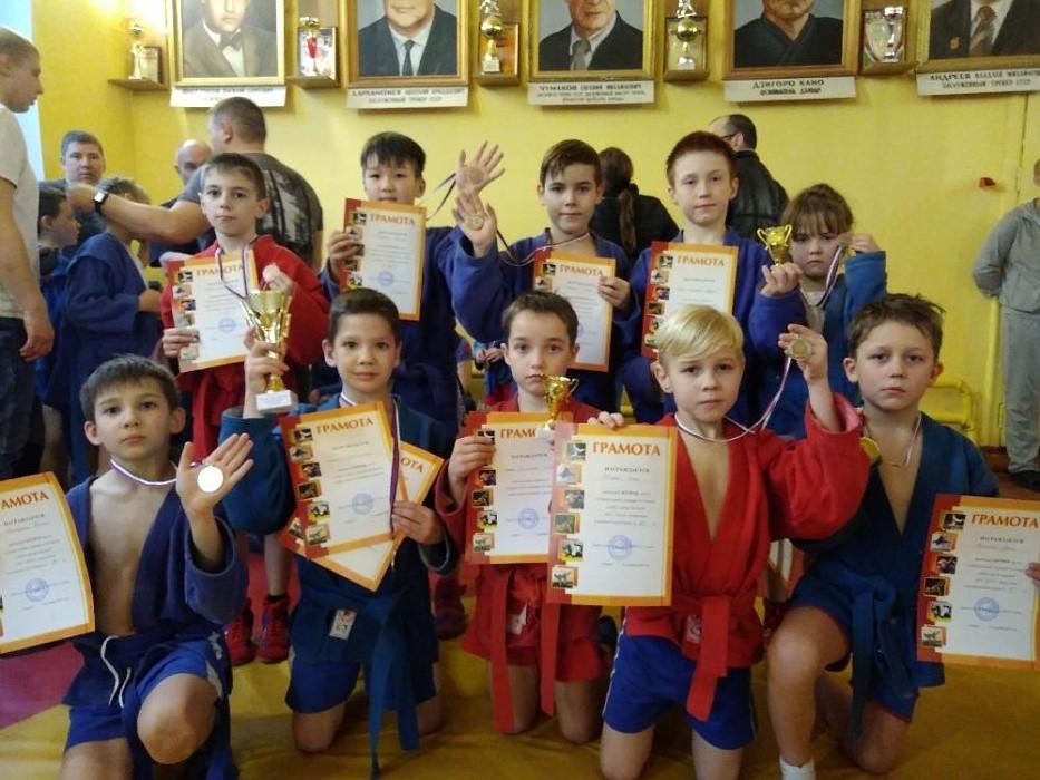 В Тверской области прошло личное командное первенство по самбо