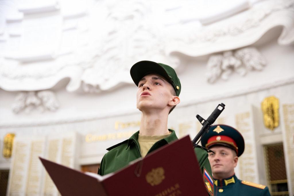 Новобранцы из Тверскойобласти пополнили ряды Преображенского полка