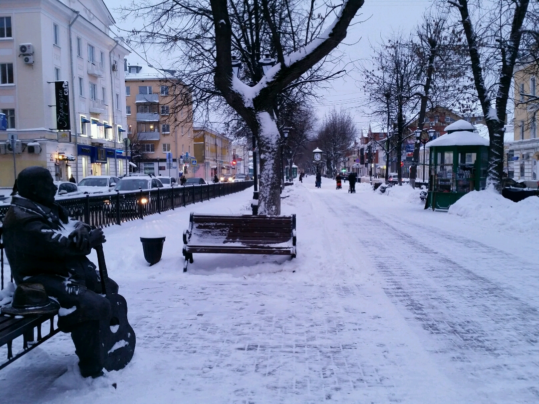 Синоптики обещают скорый снег в Твери