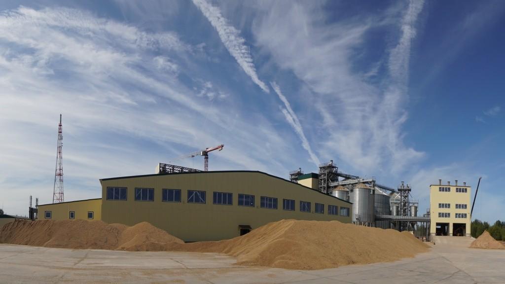 В Тверской области начал работу современный комбикормовый завод