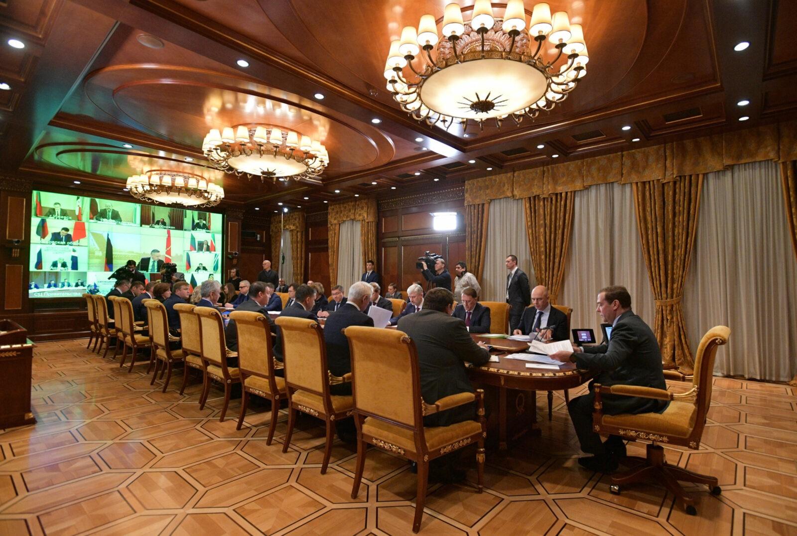 Игорь Руденя принял участие в заседании Совета при Президенте РФ по нацпроектам