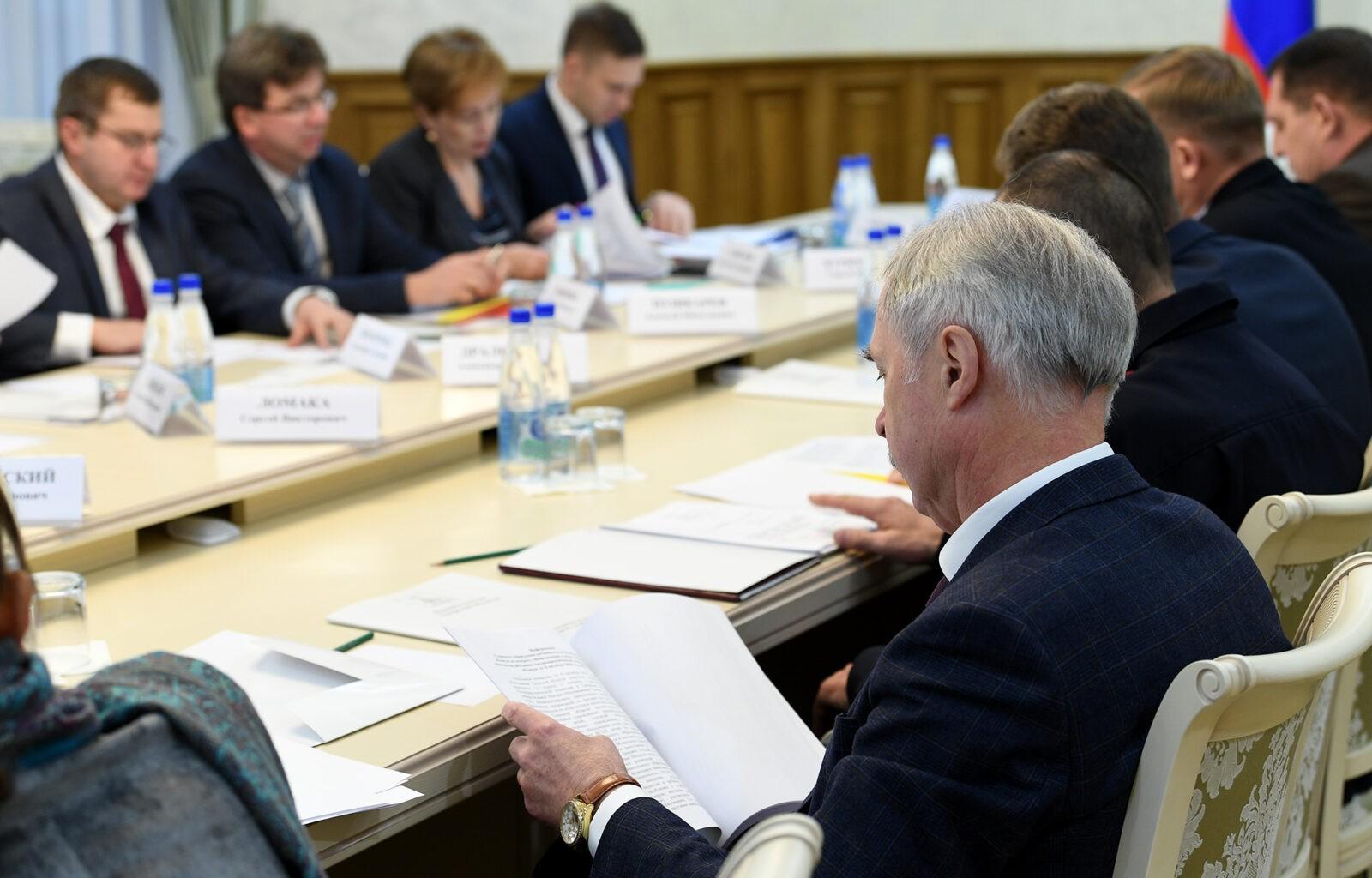 Игорь Руденя провёл заседание Антинаркотической комиссии в Тверской области