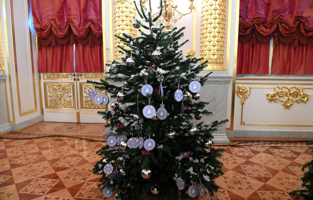 Игорь Руденя принял участие в новогодней акции «Елка желаний»